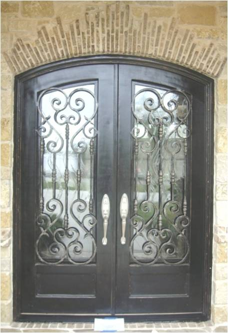 Custom Wrought Iron Doors In El Paso Midland Atrium Wrought Iron