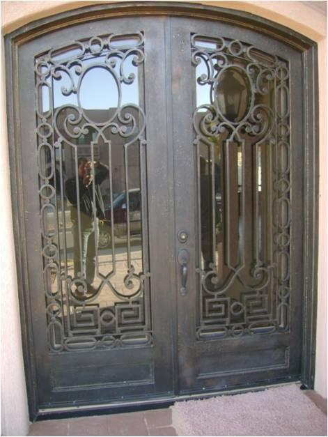 Custom Wrought Iron Doors In El Paso Midland Atrium Wrought Iron