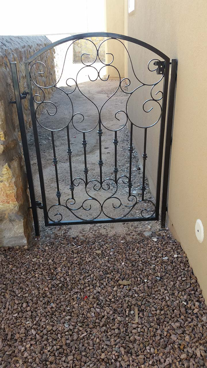 Custom Wrought Iron Gates In El Paso Amp Midland Atrium