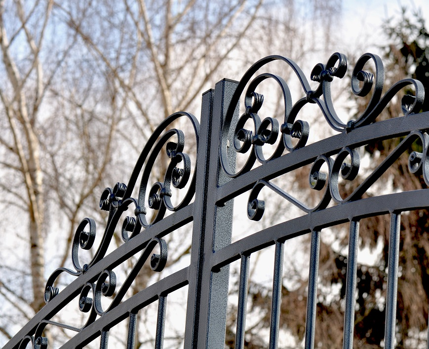 beautiful wrought iron gate