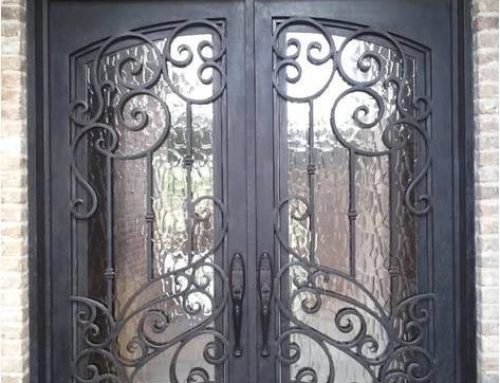 Decorating Tips for Homes with Wrought Iron Doors and Window Bars