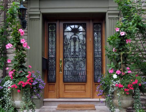 How to Make a Fashionable Statement with the Help of a Wrought Iron Door
